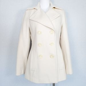 Calvin Klein Wool Blend Double Breasted Pea Coat 6